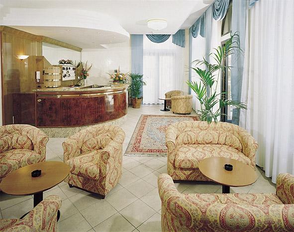 Hotel Ulisse: la hall