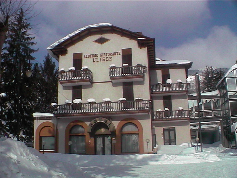Hotel Ulisse: in inverno